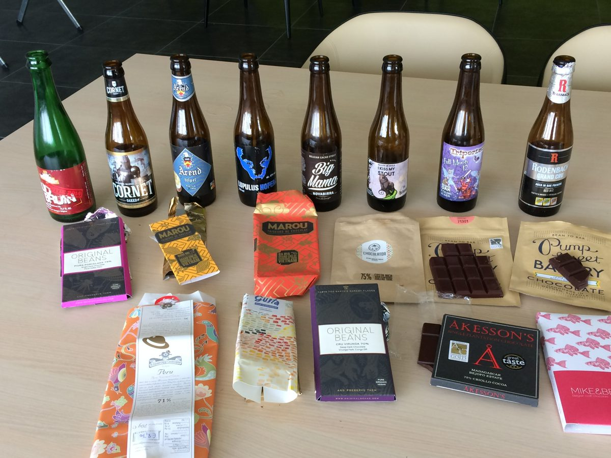 Bier-en-chocolade-pairing-12-Bean-to-bar-2-1 Association bière et chocolat