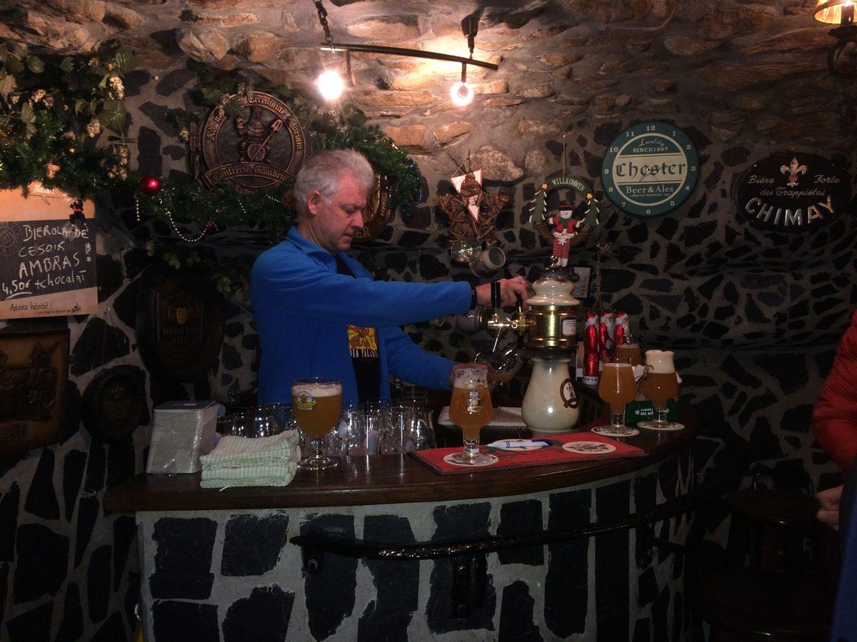 Business-Bierwandeling-1-4-Gambrinus-Keller-Middeleeuwse-kerker-Luxemburgs-café-1 Bierproefwandeling