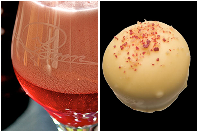 Combinatie-bier-en-chocolade-6-oude-kriek-boon-manon-met-blauwbescreme-praline Combining beer and chocolate